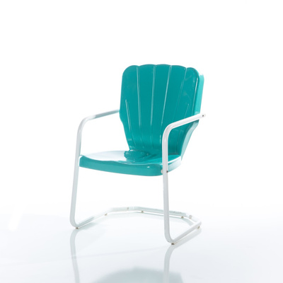 Turquoise Motel Chair